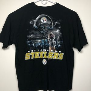 Other - Pittsburgh Steelers 2 Sided T Shirt Sz 4XL NFL